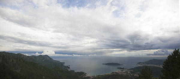 Miracle Kite Cup: панорама Монтенегро, Черногория